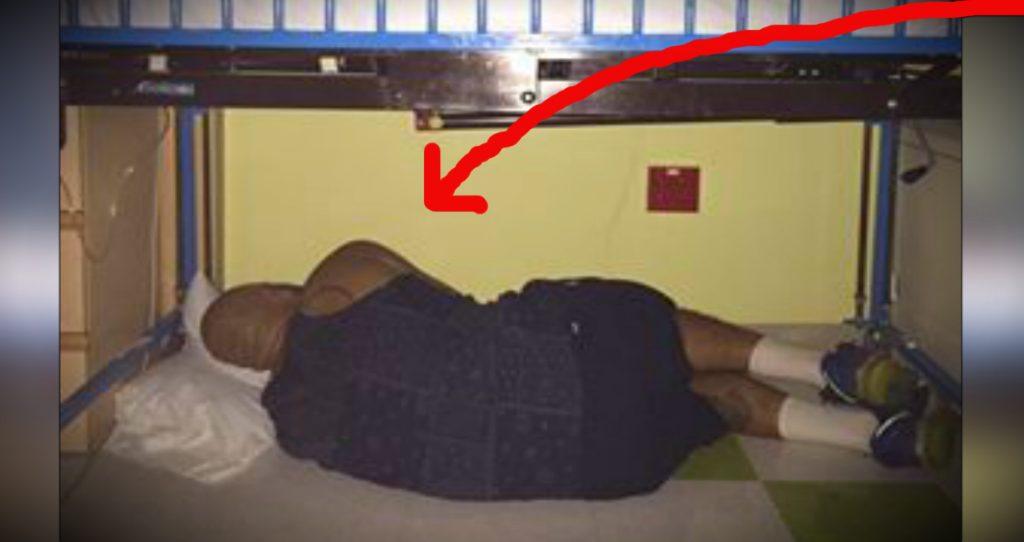 godupdates viral photo of devoted dad asleep under sick son's crib fb