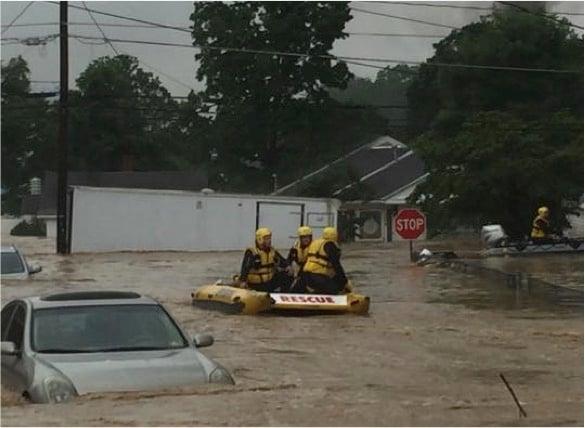 godupdates west virginia flood wrestler saves woman 5