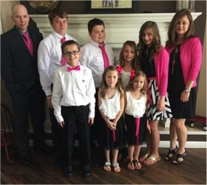 godupdates woman honors promise to adopt dying friend's 6 kids 5