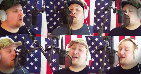 Brandon Hemry Sings 'American The Beautiful'