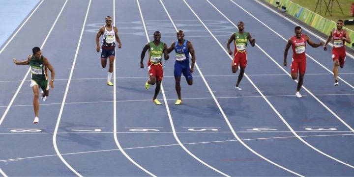 godupdates Olympic Runner Wayde Van Niekerk breaks 400m record credits God 1