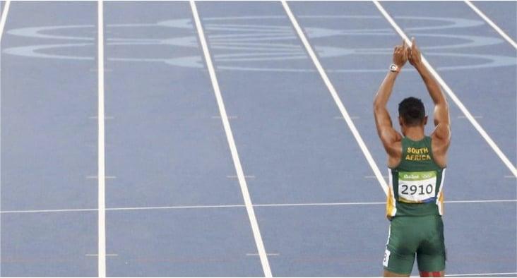 godupdates Olympic Runner Wayde Van Niekerk breaks 400m record credits God 2