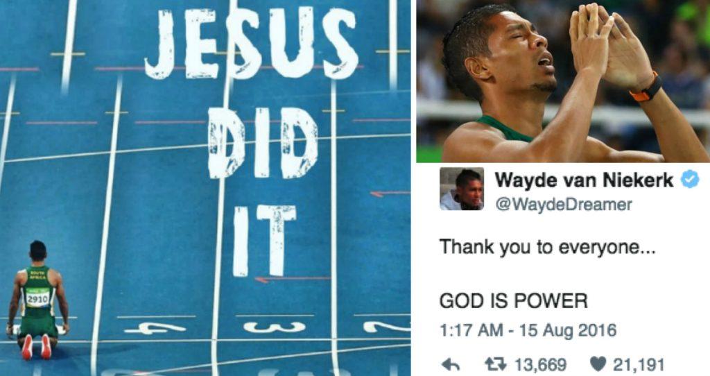 godupdates Olympic Runner Wayde Van Niekerk breaks 400m record credits God fb