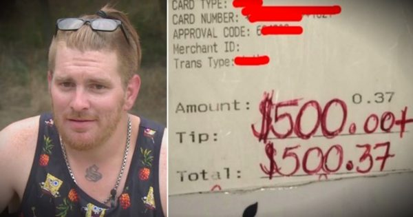 Waiter Helped An Elderly Lady In The Grocery And Got A $500 'Thank You'