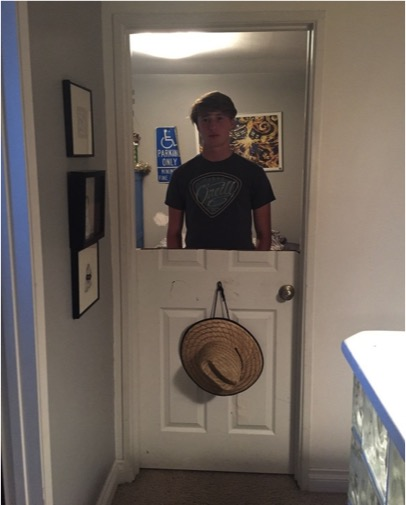 godupdates dad cuts sons bedroom door in half as punishment for slamming it 1