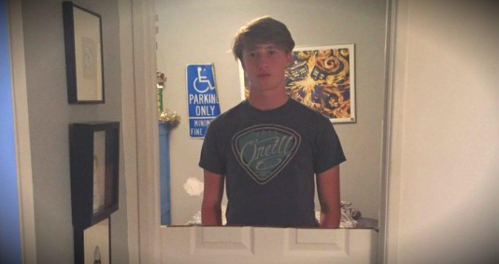 godupdates dad cuts sons bedroom door in half as punishment for slamming it fb