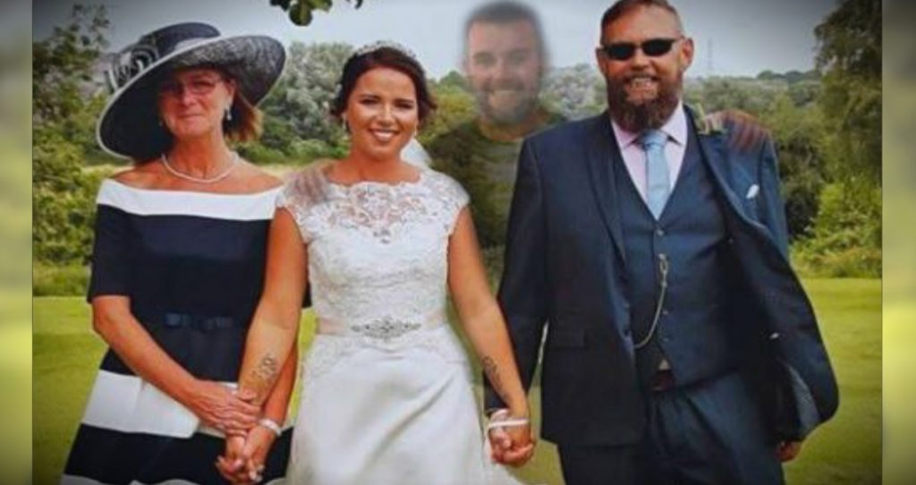 godupdates deceased brother featured in brides wedding pics fb