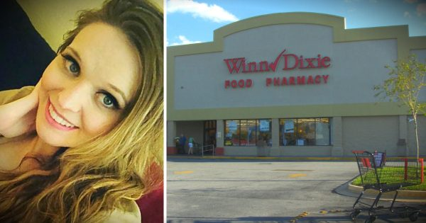 A Special Angel Helps This Single Mom Of 4 At Winn Dixie!