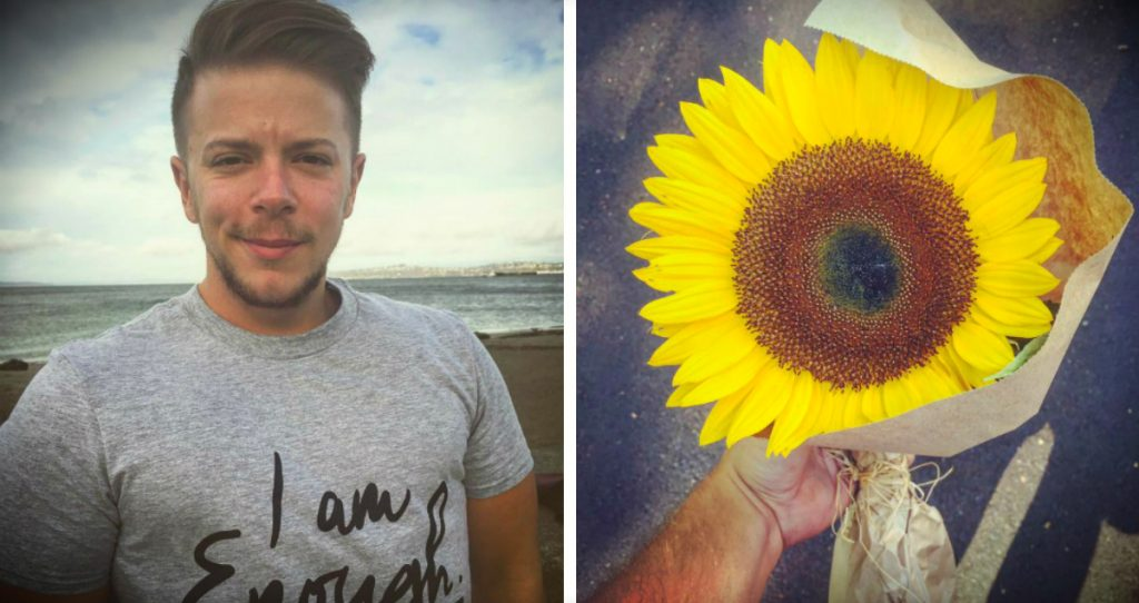 godupdates sunflower for stranger becomes sign from dead fiance fb
