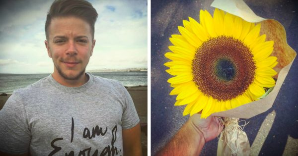 God Had A Very Special Purpose For This Stranger And His Sunflower