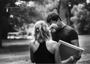 godupdates wife surprises husband at photoshoot with birth announcement 4