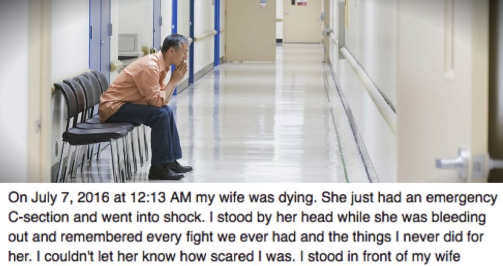 godupdates husband finds god wife nearly died childbirth fb