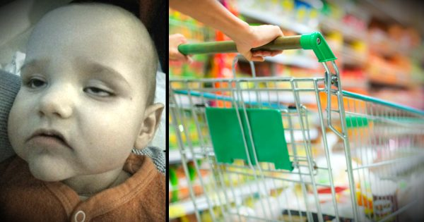 Mom's Warning After Baby Catches Meningitis From Shopping Cart