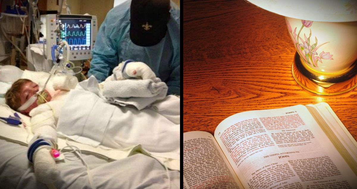 godupdates mom of dying boy finds open bible in hotel fb