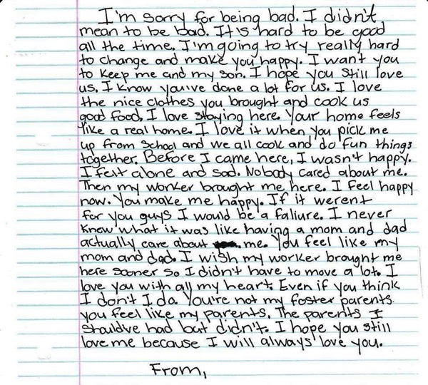 foster kid letter changes mind of fed up mom 1
