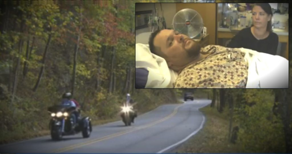 godupdates biker credits god and guardian angels motorcycle crash fb