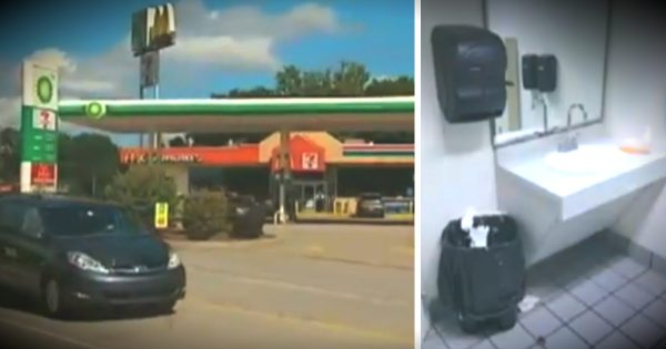 Newborn Baby Abandoned By Mother In Gas Station Trash Can