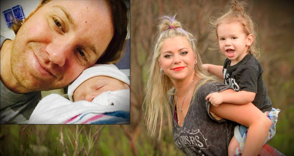 godupdates stray bullet kills husband days after son's birth fb