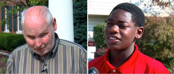 godupdates teen helps blind man cross a busy intersection 1