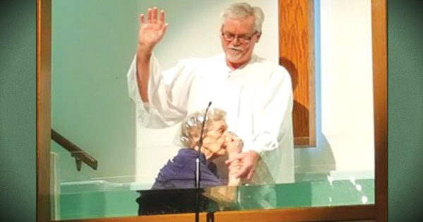 94-Year-Old Woman Baptized And Says It's Never Too Late To Become Christian