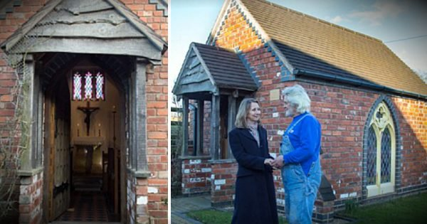 Husband Surprises Wife By Building A Chapel In The Backyard