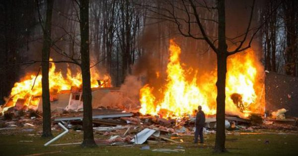Christmas Miracle Spares Woman's Life In House Explosion