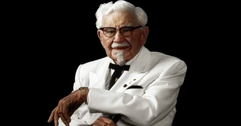 colonel sanders accepted jesus testimony fb