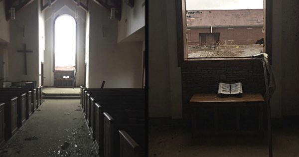 Bible Found Untouched After Tornado Rips Through Chapel