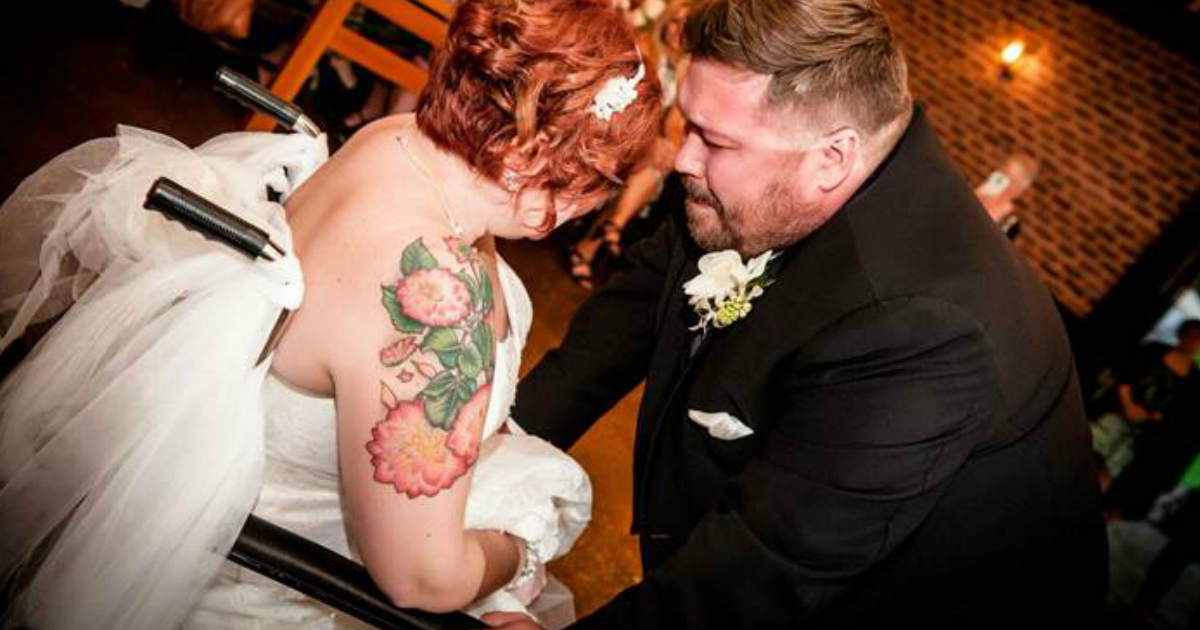 godupdates hospital staff held a surprise wedding for woman with brain tumor fb