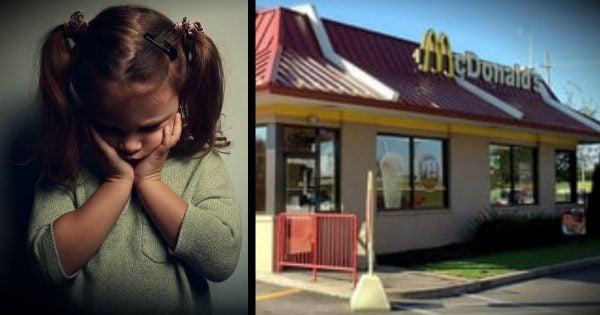 Stranger's Act Of Kindness For Scared Little Girl At McDonalds
