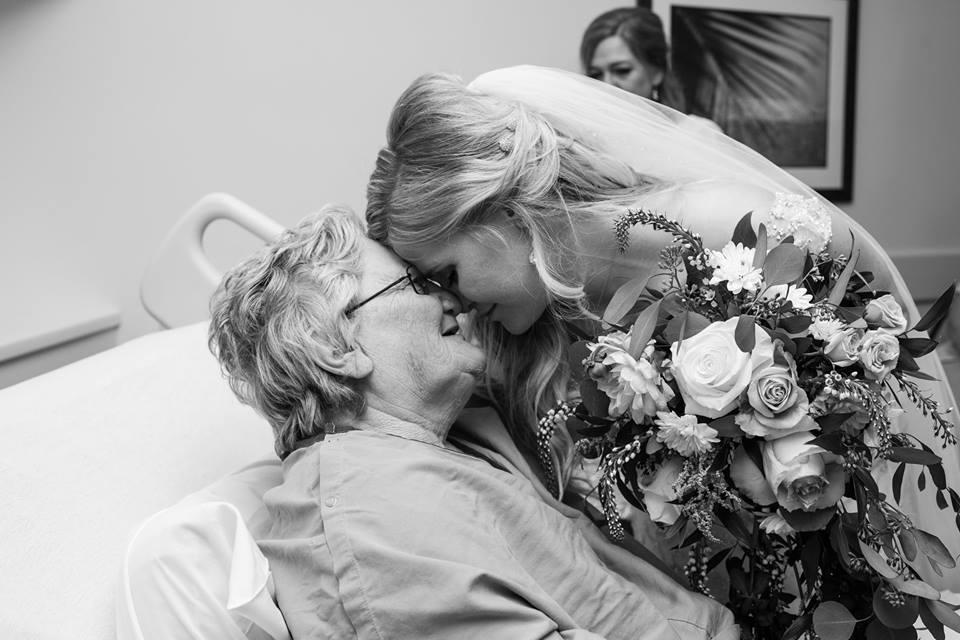 Granny Got Sick _ Wedding Day _ Bride visits in hospital _ god updates