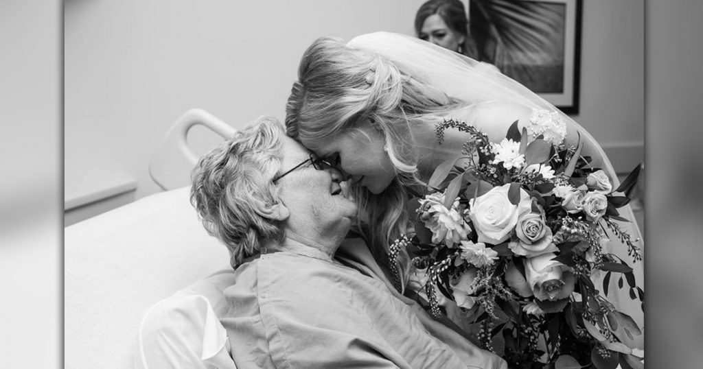 Granny Got Sick _ Wedding Day _ Bride visits in hospital _ god updates