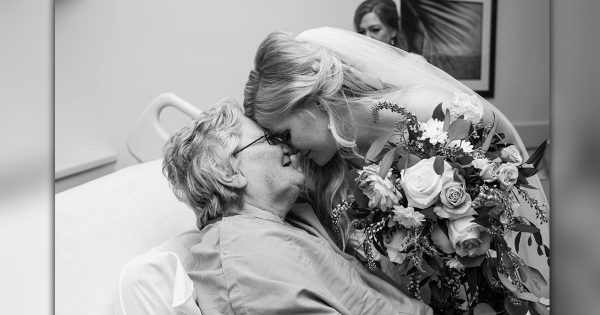 Bride Has A Special Surprise When Granny Got Sick On Her Wedding Day