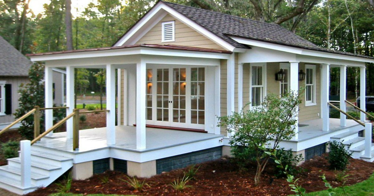 12 amazing granny pod ideas that are perfect for the backyard for Small guest house ideas