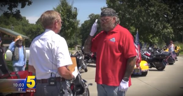 Group Of Bikers Make Cross-Country Trip To Bring A Fallen Hero Home