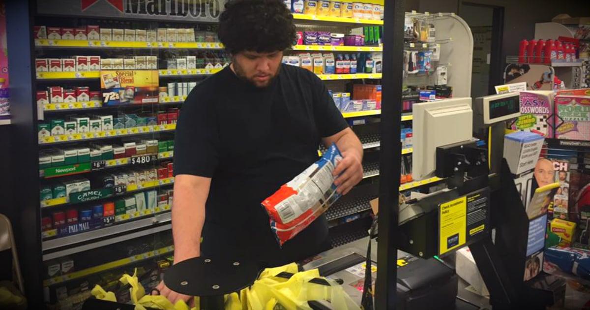 godupdates dollar general cashier pays for elderly veteran fb