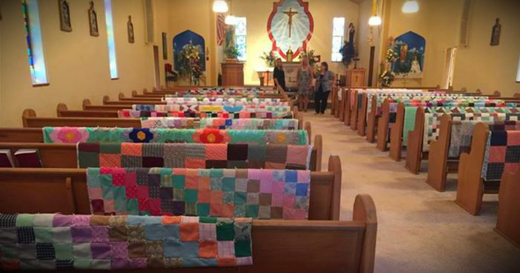 godupdates family displayed grandmas quilts at funeral fb
