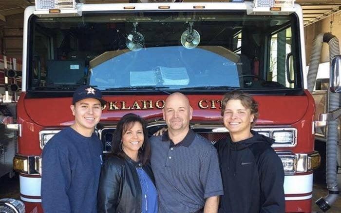 godupdates iconic Oklahoma City bombing photo fire fighter retires 1
