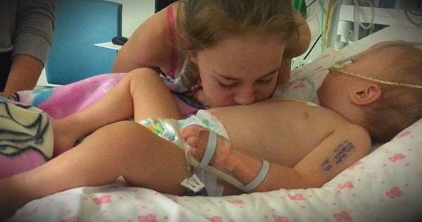 Big Sister Blows Kisses On Brain-Dead Baby And Gets A Miracle