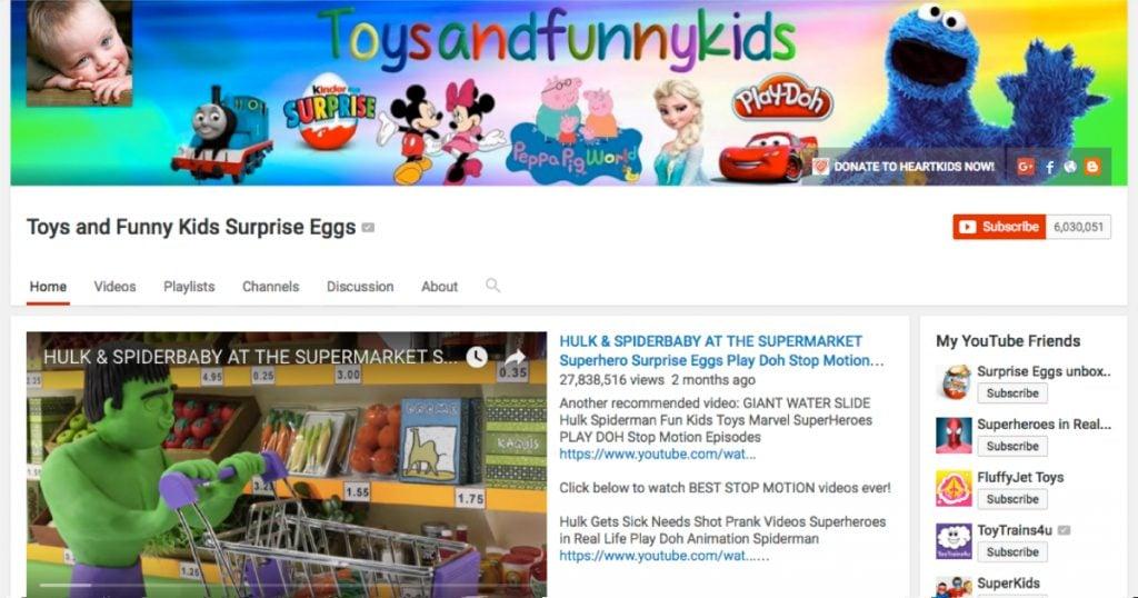 godupdates inappropriate online kid's cartoons warning 1