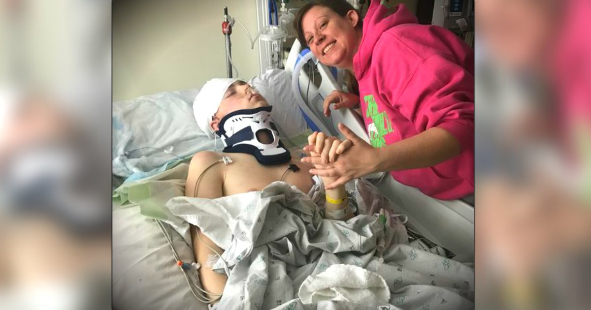 godupdates teen fell and how skull cracked miraculously saved life fb
