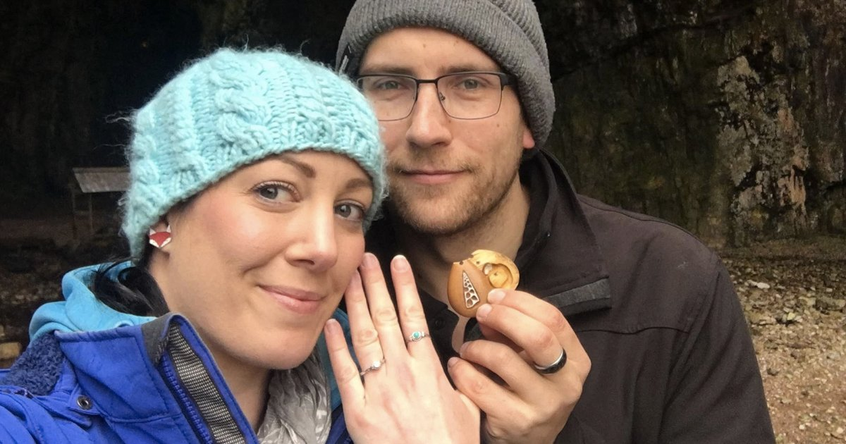 Man Proposes With Hidden Engagement Ring _ Terry and Anna _ Necklace _ god updates