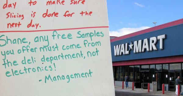 7 Funny Corrections Given By Walmart Management To Shane The Deli-guy