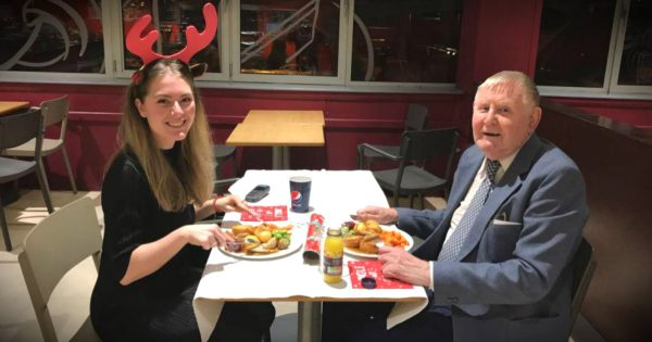 22-Year-Old Takes Lonely Widower On His First Date In 55 Years