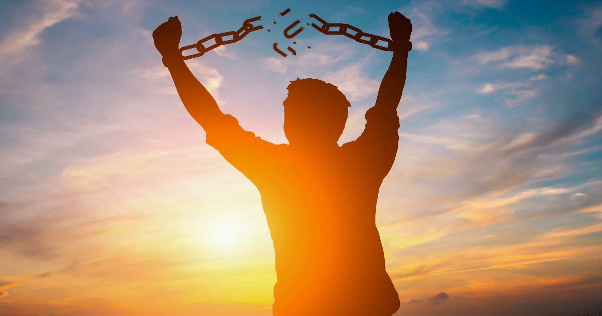 Image result for image of chains breaking