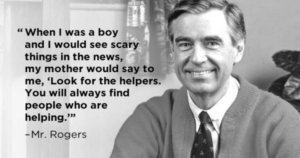 godupdates man's touching story of the real life Mister Rogers 1