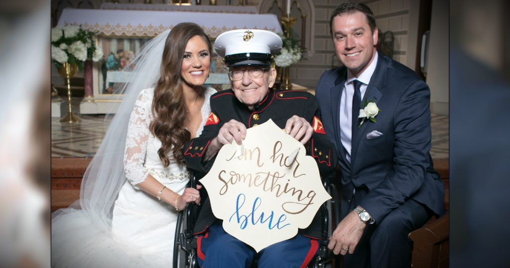 godupdates bride's 92-year-old veteran uncle as something blue 2