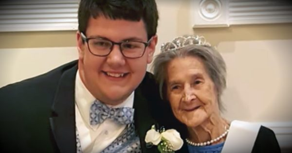 Grandson Finds Out Grandma Is Dying, Then Takes Her To Prom