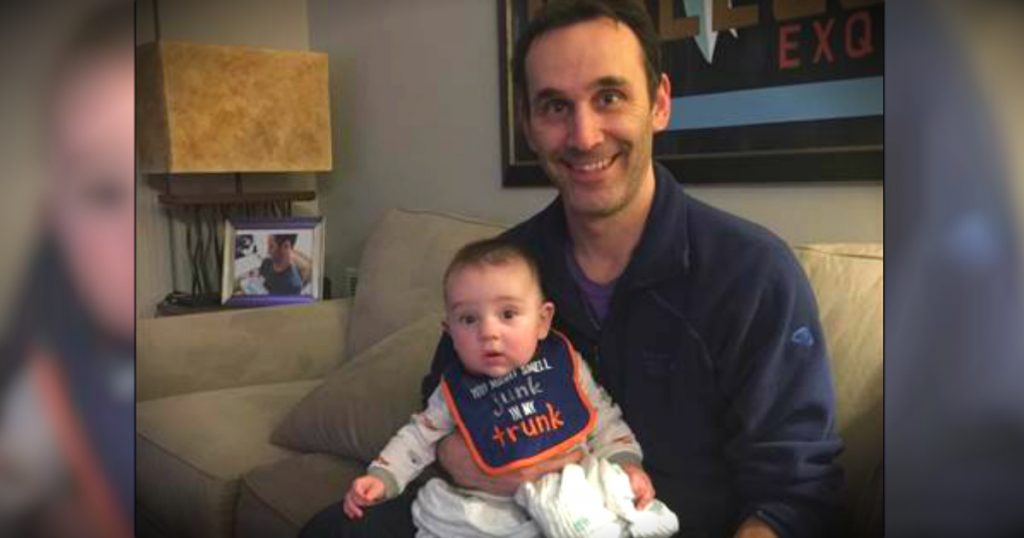godupdates man used IVF to become single dad 1