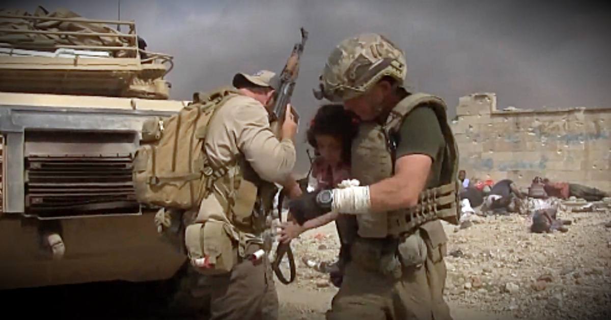godupdates veteran rushes to save little girl while family is homeschooled in war zones fb